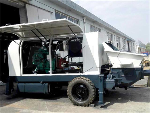 Concrete pump diesel in China