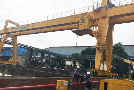 Double Girder Gantry Crane 5 Ton